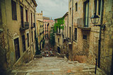 City street in Spain