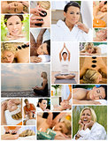 Women Spa & Massage Relaxing Healthy Lifestyle