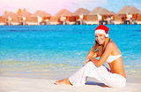 Christmas vacation on Maldives