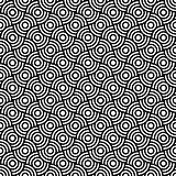 Seamless op art texture.
