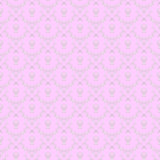 Pink colour lovely seamless pattern
