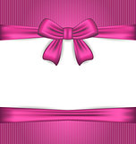 Elegance pink wrapping with ribbon bow
