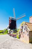 windmill of Boeschepe, Nord-Pas-de-Calais, France