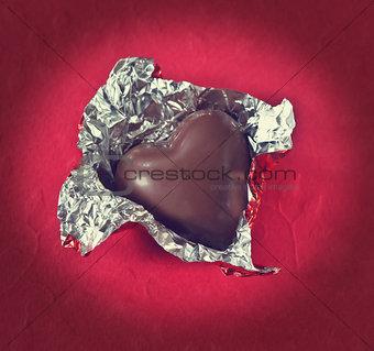 Valentine candy heart.