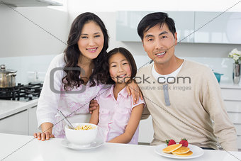 Couple with a daughter havi