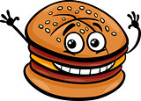 cheeseburger cartoon character