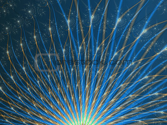 Fractal Fireworks
