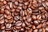 many light roasted coffee beans