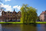 traditional Dutch houses, Alkmaar town, Holland, the Netherlands