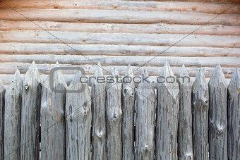 Medieval stockade