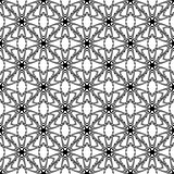 Design seamless monochrome decorative pattern. Abstract trellis