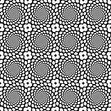 Design seamless monochrome spiral movement snakeskin pattern. Ab