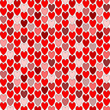Design seamless colorful heart pattern. Valentine's Day backgrou