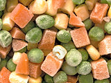 frozen diced vegetables