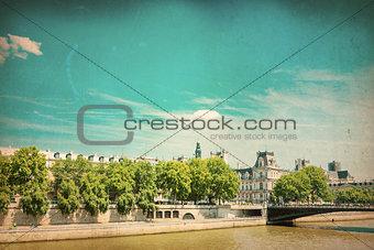 old-fashioned paris