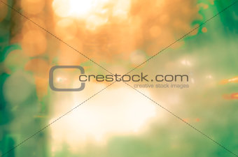 abstract background with bokeh defocused