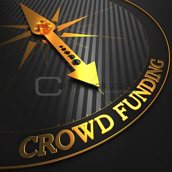 Crowd Funding Concept.
