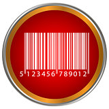 Bar code button