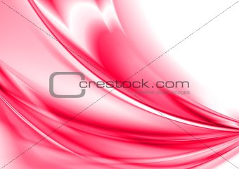 Bright abstract wavy design