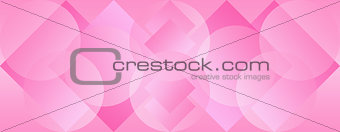 Pink Panoramic Background