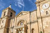 Cathedral, La Valletta old town, Malta island