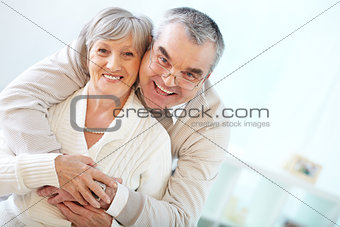 Affectionate seniors