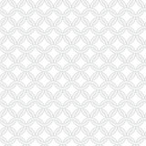 Simple geometric vector seamless interwoven rings pattern