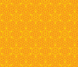 Vector orange abstract background