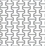 Simple geometric vector seamless gray pattern