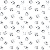 Vector texture - dices background
