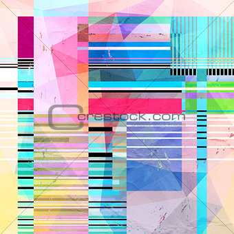 abstract colorful geometric texture