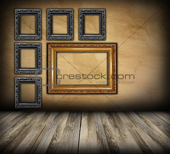 art indoor background