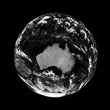 Australia on black Earth