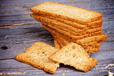 Crunchy Bread Slices