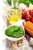 freshly made pesto