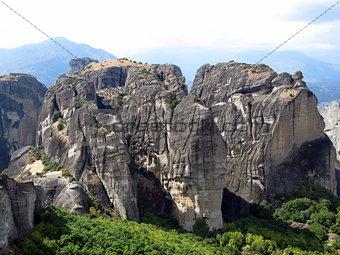 greece lone mountain
