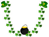 clover hat pot of gold