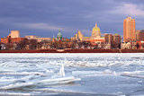River Ice at Harrisburg