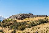 Puca Pucara ruins peruvian Andes  Cuzco Peru