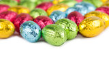 Chocolate eggs border