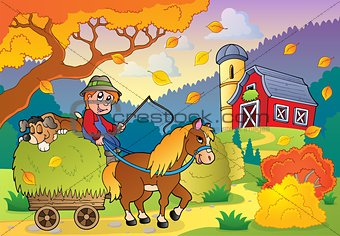 Autumn farm theme 4