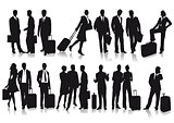 Passengers and travelers