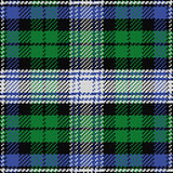 vector seamless pattern Scottish tartan Black Watch 2