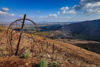 Israeli - Syrian border