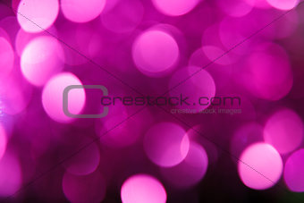 Abstract christmas background. Holiday colored lights