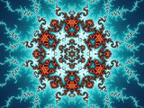 Decorative fractal ornament