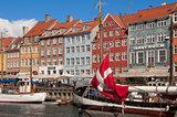 Nyhavn new pear Copenhagen Denmark