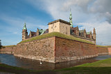 Kronborg Slot,the castle of Helsingor,Denmark
