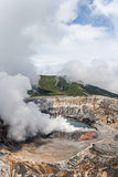 Volcano Poas in Costa Rica