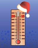 Christmas thermometer